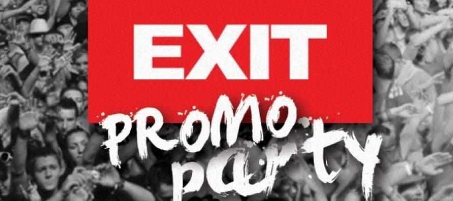 Početak promotivnih Exit žurki