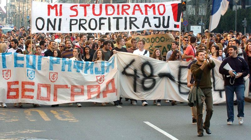 Protest-studenata