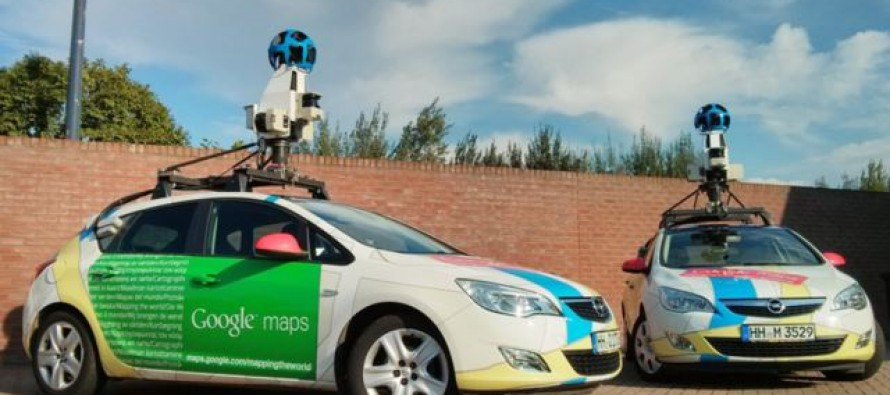 Google Street View vozilo primećeno u Nišu