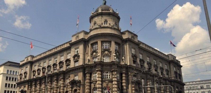 Protest studenata sa hendikepom ispred Vlade Srbije