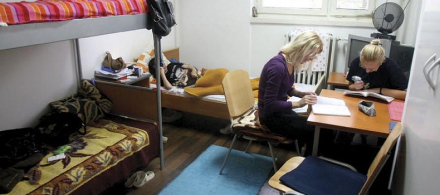 Život u studentskom domu privilegija