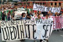 Sutra novi protest ispred Ministarstva prosvete