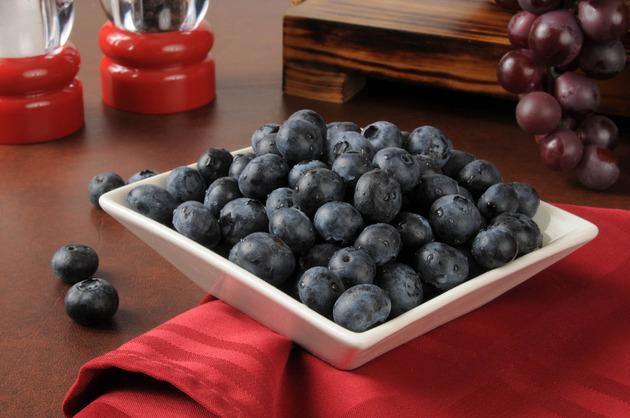 borovnica i grozdje