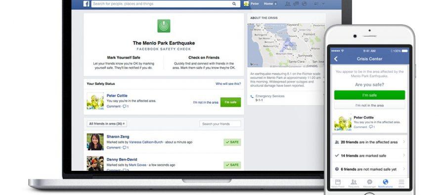 Nova opcija na Fejsbuku: Provera bezbednosti