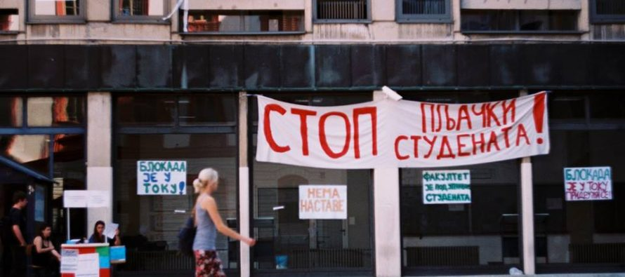 Studentski front: Osuda napada na studente Filozofskog