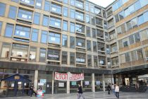 Studenti Filozofskog blokirali deo Rektorata
