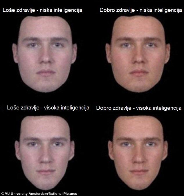 Slike lica koje su istraživači koristili. Foto: VU University Amsterdam