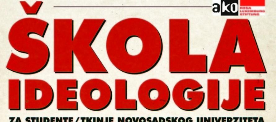 """Besplatna """"Škola ideologije"""" za studente u Novom Sadu"""