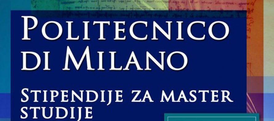 Prezentacija master programa i stipendija Univerziteta u Milanu