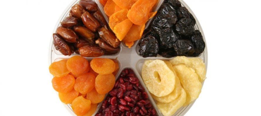 Suvo voće za bolju moždanu aktivnost