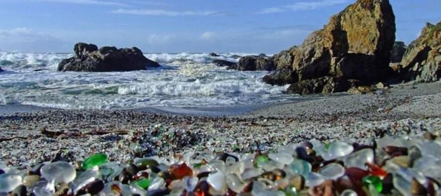Staklene plaže u Kaliforniji