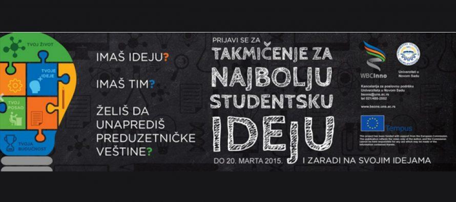 Takmičenje za najbolju studentsku ideju