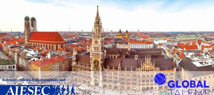 Plaćena stručna praksa u Minhenu