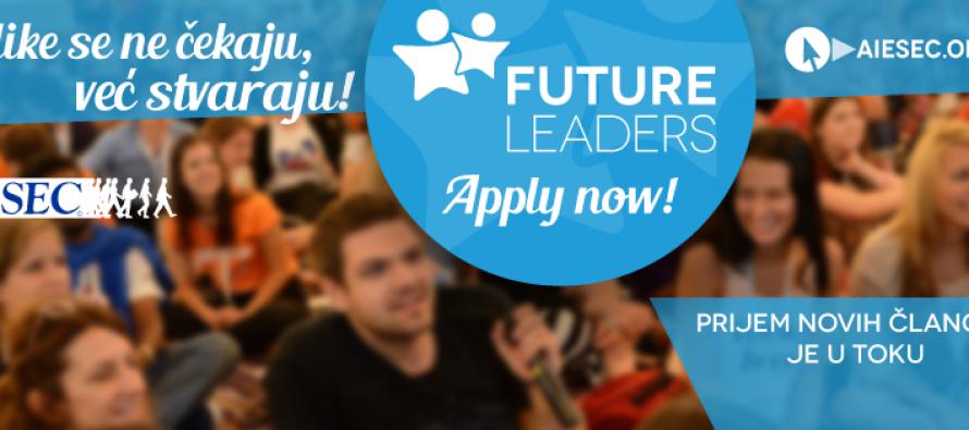 """Prijem članova u okviru """"Future Leaders"""" organizacije AIESEC"""
