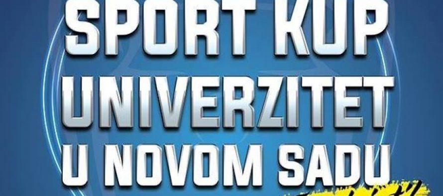 Dani sporta u kampusu Univerziteta u Novom Sadu