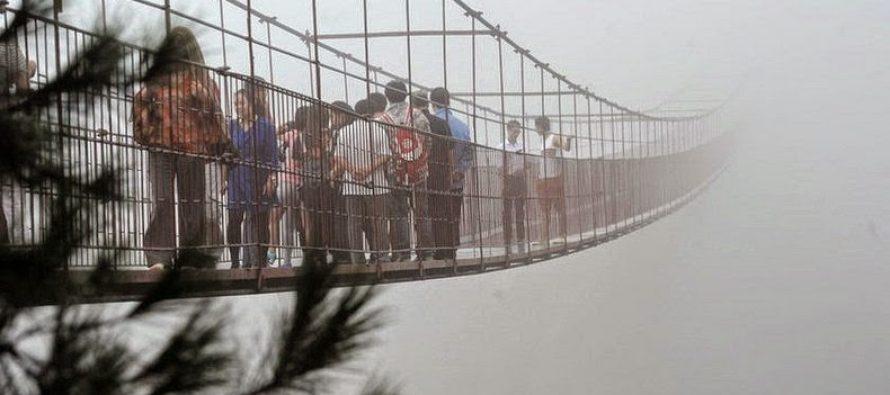Izazov i za najhrabrije: Da li biste prošetali ovim mostom?