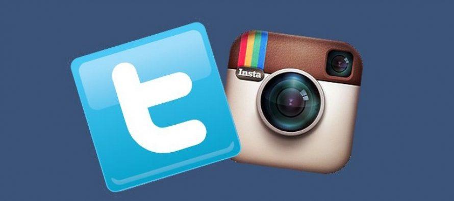 Instagram vs. Twitter: Ko je posećeniji?