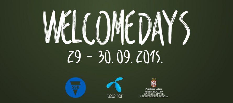 """""""Welcome Days"""" za studente u Beogradu"""