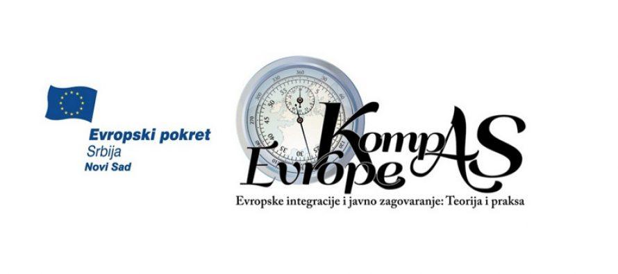 """Prijava za učešće u """"Kompas Evrope"""""""
