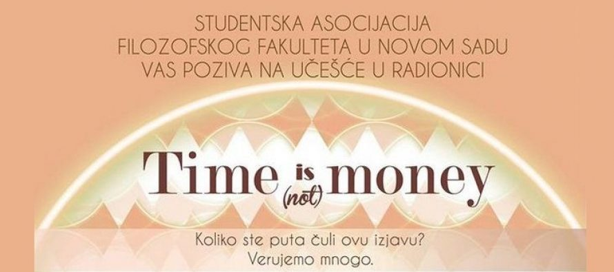 """Radionica o upravljanju vremenom – """"Time is (not) money"""""""