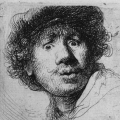 rembrant selfi