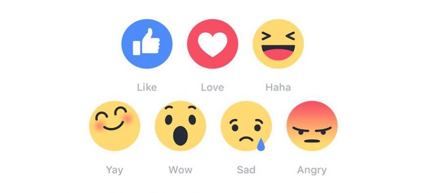 Konačno su stigli – novi emotikoni na Facebook-u