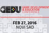 Konferencija GEDU 2016 – obrazovanje kadra za rad u industriji video-igara