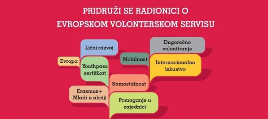 Pančevo: Radionica za mlade o Evropskom volonterskom sevisu