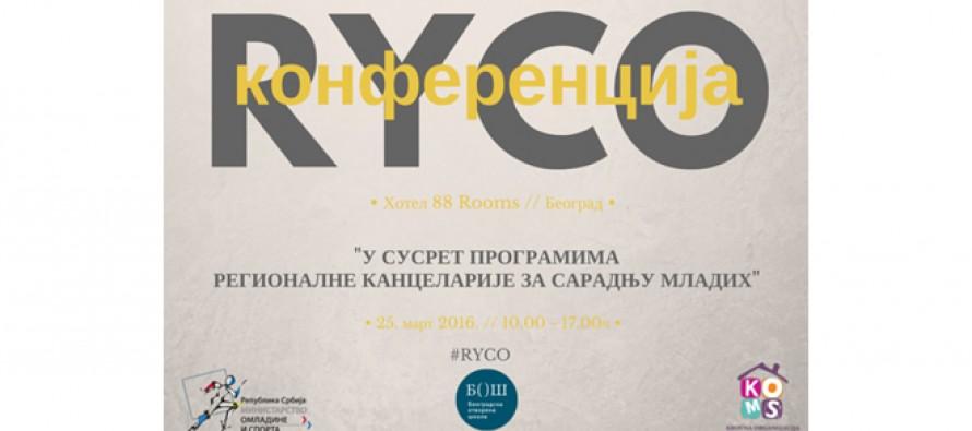"""Prijava za konferenciju """"U susret programima Regionalne kancelarije za saradnju mladih"""""""