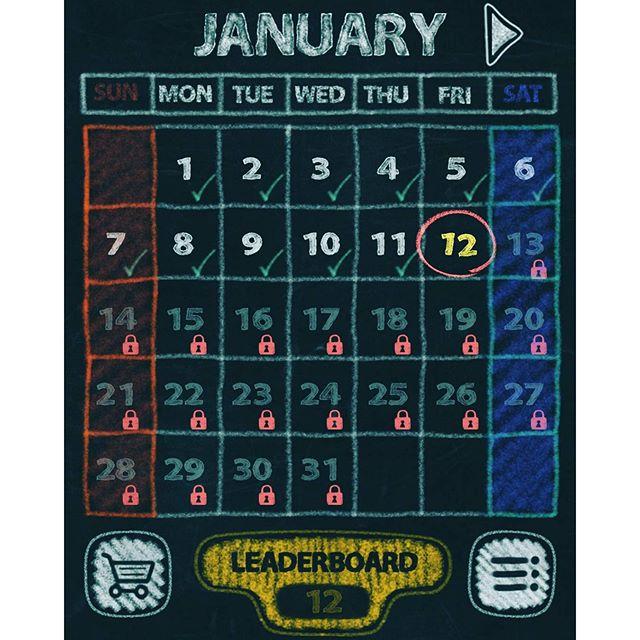 dart kalendar