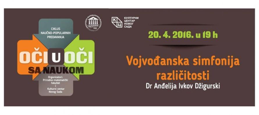 """Novi Sad: Predavanje """"Oči u oči sa naukom"""""""