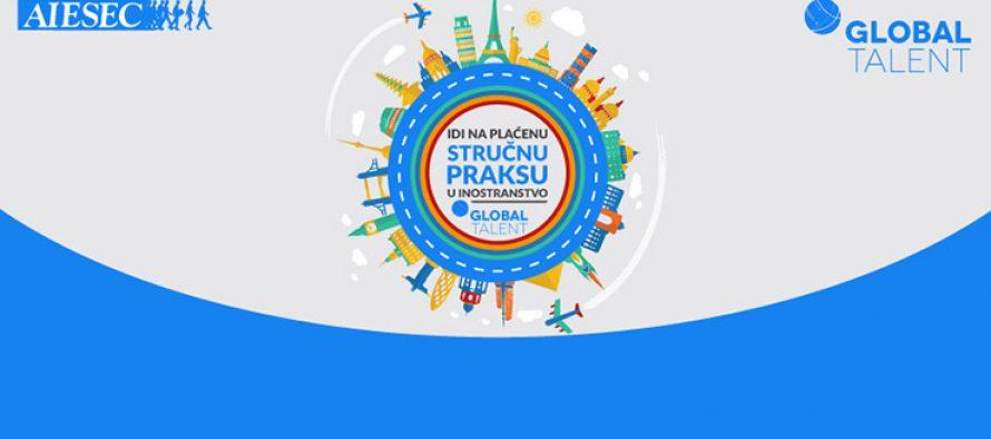Global Talent program – sticanje praktičnog iskustva u inostranstvu!
