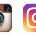 novi logo instagram