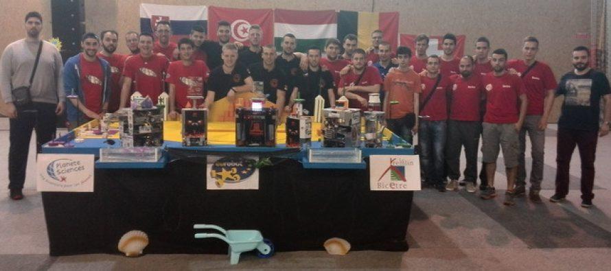 """Najvećih uspeh naših studenata na takmičenju """"Eurobot"""" do sada"""