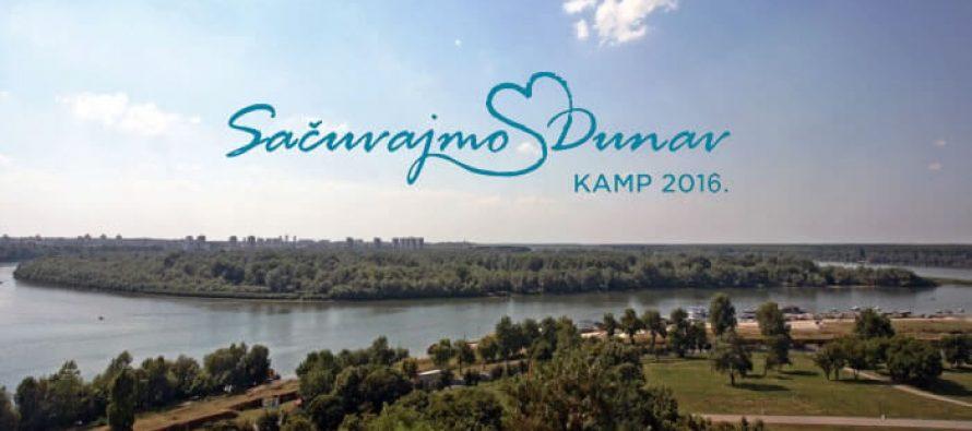 """Prijava za studentski eko kamp """"Sačuvajmo Dunav"""""""