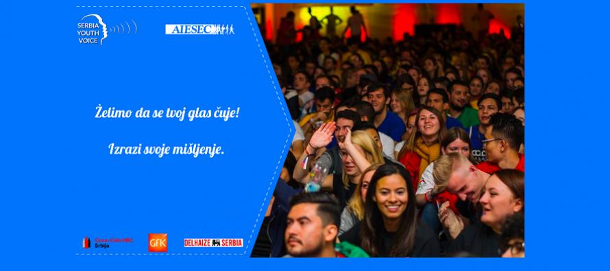 AIESEC poziva mlade Srbije da iskažu svoje mišljenje