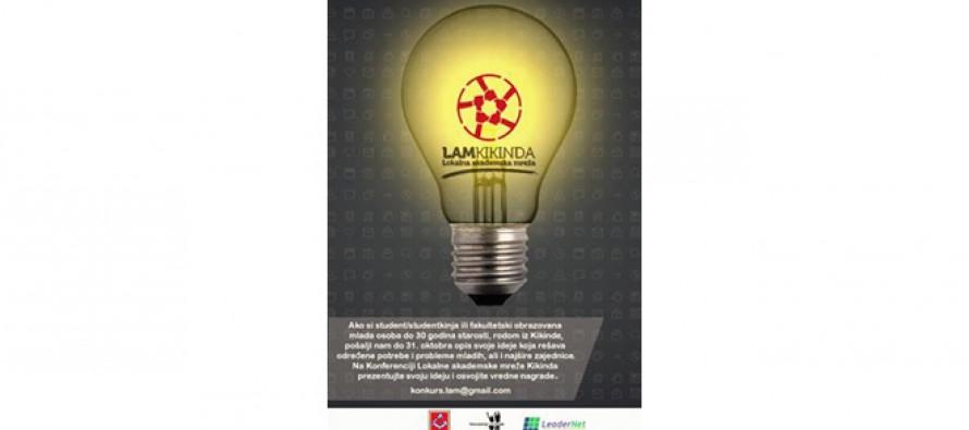 Kikinda: Konkurs za ideje koje rešavaju potrebe i probleme mladih