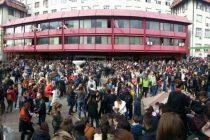 Protestna šetnja studenata Ekonomskog fakulteta do Ministarstva prosvete!