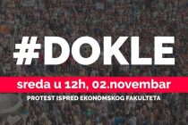Bez potpisa dekana Ekonomskog fakulteta – studenti u protestu! #Dokle