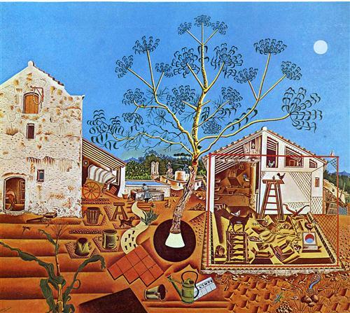 """""""Farma"""" - jedna od najpoznatijih slika Huana Miroa"""