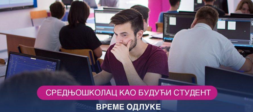 Srednjoškolac kao budući student – vreme odluke