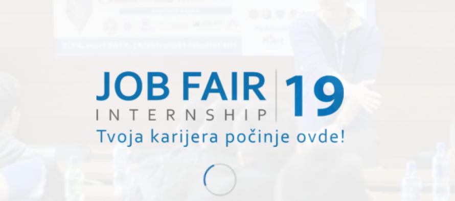 Tvoja karijera počinje ovde – Job Fair 2019